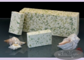Мыло натуральное /органика/ СВЕЖЕСТЬ с белой глиной/ ТМ Искусъ